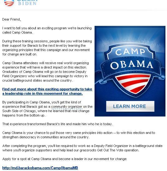 Obamacamp