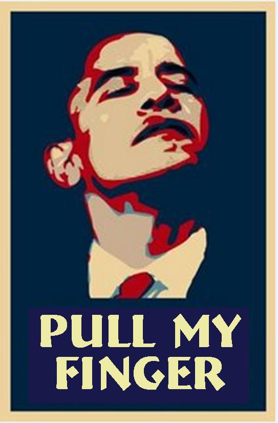 Obama--Pull My Finger