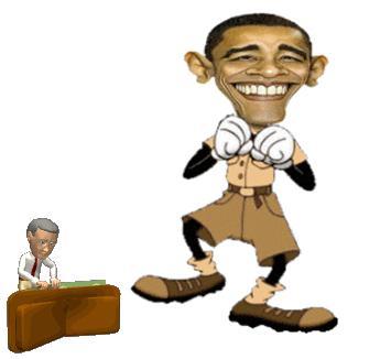 Obama Tap Dancing