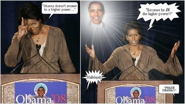 Obama Higher Power